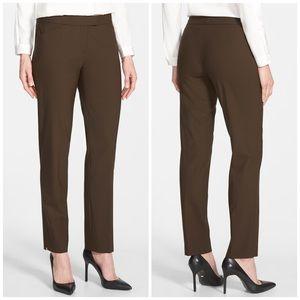 Lafayette 148 New York Irving Stretch Wool Pants